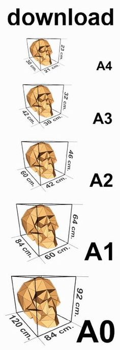 DOWNLOAD SKULL TEMPLATES PRINT SIZES