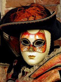 The Cat Mask by Lesley McGibbon Venice Carnival 2013 by katrina