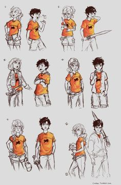 Percy Jackson and Annabeth Chase Percabeth Memes Percy Jackson, Arte Percy Jackson, Dibujos Percy Jackson, Percy Jackson Books, Percy Jackson Fandom, Riptide Percy Jackson, Percy Jackson Fan Art Funny, Percy Jackson Drawings, Percy Jackson Annabeth Chase
