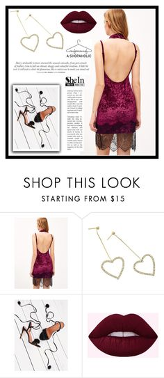 """SheIn 9."" by fashion-rebel-chic ❤ liked on Polyvore"
