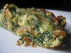 Spinach and Caramelized Onion Fritatta Recipe