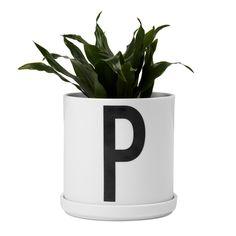 Design Letters - AJ Porzellan Pflanztopf, mit Pflanze