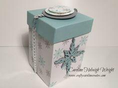 Star of Light Gift Box - Video Tutorial using Star of Light by Stampin' Up.