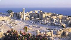Ancient Kition Archaeological Site Larnaca- Cyprus; Ted Frank