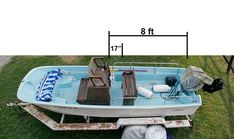 Image result for where is the wood center console placed on a 1966 Boston Whaler Boston Whaler, Center Console, Restoration, Outdoor Decor, Boats, Projects, Image, Sport, Log Projects