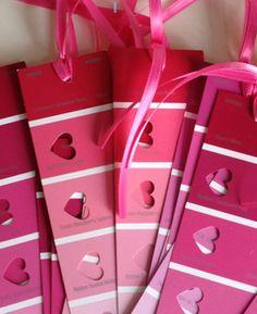 Valentine's Day DIY: Heart Bookmarks