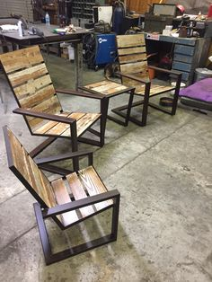 One of my patio sets Woodworking At Home, Small Woodworking Projects, Woodworking Equipment, Woodworking Furniture, Woodworking Basics, Woodworking Lathe, Woodworking Patterns, Woodworking Workshop, Woodworking Classes