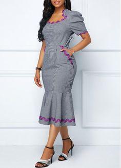 8196dd52221 Scalloped Neckline Pocket Zipper Back Dress on sale only US 38.69 now