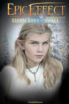 Epic Effect Elven Ears - Small, Larp Inn- Ears - Epic Effect