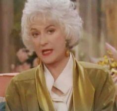 dorothy zbornak | Bea Arthur as Dorothy Zbornak in The Golden Girls (by me).