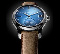 Pre-Baselworld 2015: H. Moser & Cie Endeavour Perpetual Calendar Funky Blue