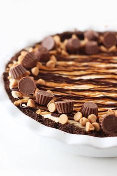 Homemade Peanut Butter Pie