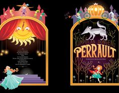 Re-illustrating classic tales book covers by Anne Marie Dalmais, Andersen and Perrault.Collaboration with Ryno Bengawan