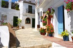 Beautiful architecture in Mijas
