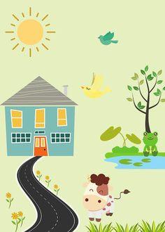 Madarak és fák napja - egy logopédus szemével – Modern Iskola Green Day, Kindergarten, Birds, Modern, Home Decor, Trees, Projects, Trendy Tree, Decoration Home