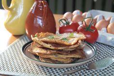 Coconut Flour Savory Pancakes