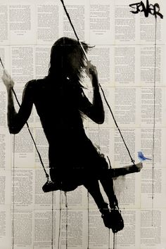 """""""The Freedom Of Sometimes"""" - canvas print by Loui Jover"""