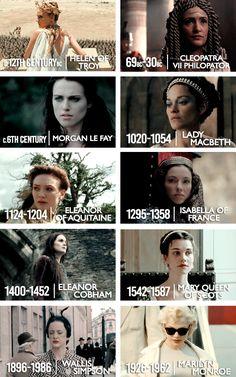 top ten 'femme fatales'