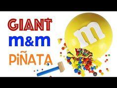 GIANT m&m's Cake | How to Make a Giant Sized m&m | My Cupcake Addiction - YouTube