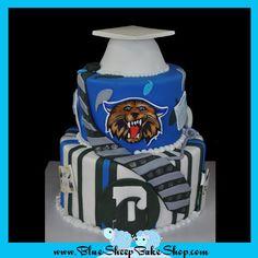 Blue sheep bakery made my son Doug's Graduation cake and still shows it on bluesheepbakeshop.myshopify.com