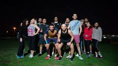 You could always try running with a group, where other people can give you encouragement, helping you stay on track. Mohsin Salya shares his tips.