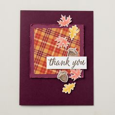 Autumn: the most beautiful time of the year! Use the Beautiful Autumn Stamp Set to accent festive fall cards and other seasonal projects.  Stamps//Paper Craft//Handmade cards//Crafts//Stampin' Up Cards//DIY Crafts//Greeting Cards