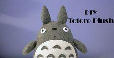 Totoro Plush  DIY Tutorial  Totoro Society