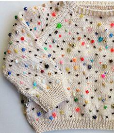 DIY Bead Sweater