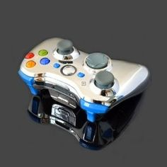 Oh. My. Gosh. Yes!..This controller features a unique chrome shell and 10 mode rapid fire.  The rapid fire works for ALL Call of Duty games (including Black Ops), Halo, and Gears of War. The controller has the fastest possible speed settings for those games. It also features a user programmable mode, so it will work for future games, and those not listed as well. Comes with a one year warranty.Features blue LED thumbsticks and LEDs in the following buttons:ABXY, Start/Back, Guide, RB, LB