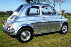 Funky Fiat 500 02 by Italian Entertainment And More, via Flickr
