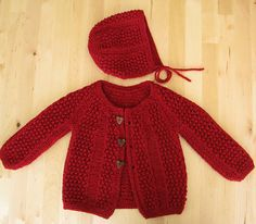 red pebbles + bonnet