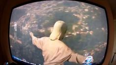 WING SUITER MEETS HIS MAKER - This is absolutely hysterical. I LOVE when someone can surprise me!!