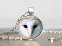 Jewellery+Barn+Owl+Pendant+Long+Necklaces+from+Madame+Butterfly+JEWELLERY+by+DaWanda.com