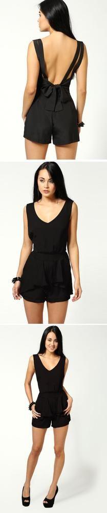 Sleeve Style: Regular Neckline: O-Neck Sleeve Length: Sleeveless Pattern Type: Solid Material: Chiffon Dress Length: Above knee, mini Color: Black Sizes: S, M, L