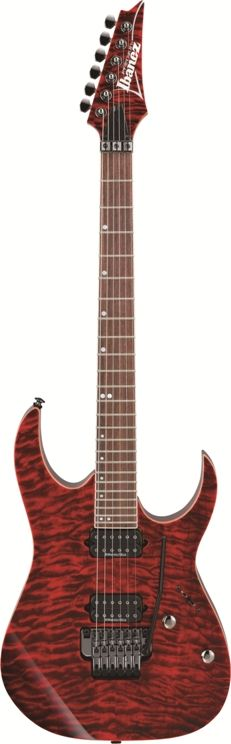 Ibanez Premium Series RG920QMRDT Guitar