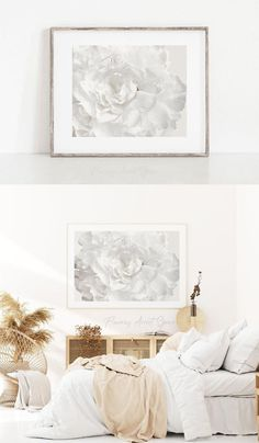 White Peonies, White Flowers, Floral Bedroom Decor, Art And Hobby, Peony Print, Big Photo, Land Art, Home Wall Art, Fine Art Photography