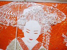 立体切り絵作家 SouMa ~ Agent WKHソリューションズ.Co.,Ltd - 切り絵作家SouMaのホームページ~お嬢な切り絵アート~WKHソリューションズ.Co.Ltd