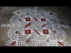 Rangoli Designs Flower, Rangoli Border Designs, Small Rangoli Design, Rangoli Designs Diwali, Rangoli Designs With Dots, Beautiful Rangoli Designs, Kolam Designs, Craft Work For Kids, Padi Kolam