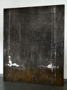 CHRISTIAN HETZEL: abrasions 2016 - 120 x 100 cm - Mischtechnik auf Leinwand,
