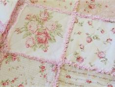 Flowery bed sheets