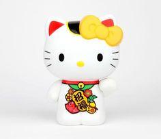 HK |❣| HELLO KITTY Lucky Cat Collectable Coin Bank
