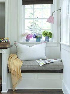 small window seat