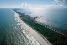 Poland air pictures. The Hel Peninsula viewed from the west / Phot. Marek Ostrowski / Album Sky Views of Poland, by Pascal