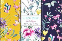 Chinoiserie by TSTUDIO on @creativemarket
