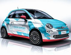 """Check out new work on my @Behance portfolio: """"Fiat 500 wrapping"""" http://be.net/gallery/58303477/Fiat-500-wrapping"""