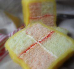 Traditonal Battenburg Cake