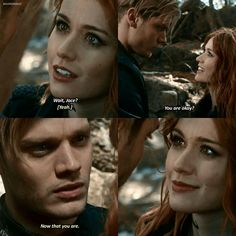 "#Shadowhunters 2x16 ""Day of Atonement"" - Jace and Clary By the angel don't look at this if u haven't seen episode 16"