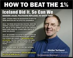 How to beat the 1%. Iceland got it right. Why does the US keep forgiving the…