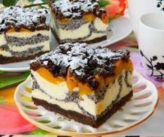 Sweet Recipes, Cake Recipes, Dessert Recipes, Polish Desserts, Cheesecake, Homemade Cakes, Yummy Cakes, No Bake Cake, Amazing Cakes