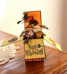 Halloween Friends by hummrs1 - Cards and Paper Crafts at Splitcoaststampers